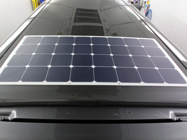 100w Solar panels for VW Transporter Campervan