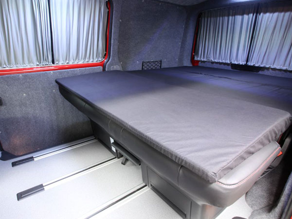 Lining and Sleeping Package for a campervan conversion