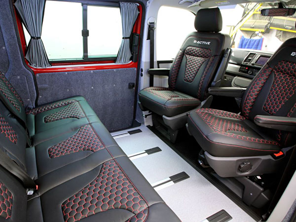 Swivel plates for VW Transporter seats