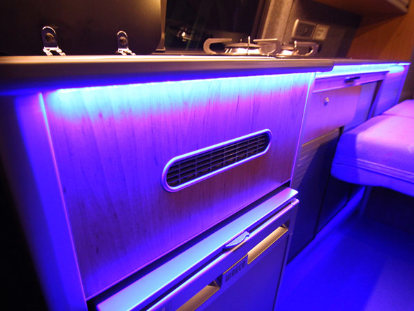Vw Campervan Worktop LED Downlighters