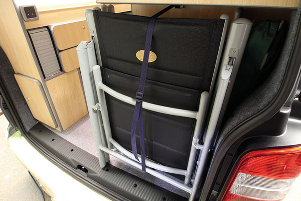 Luxury outdoor chairs for Campervan
