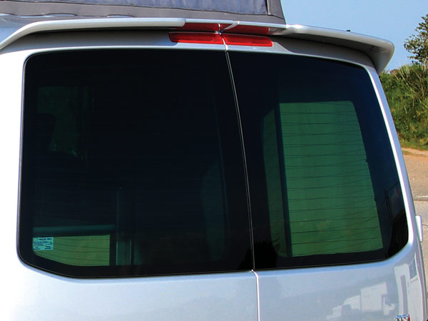 Rear window for VW Transporter
