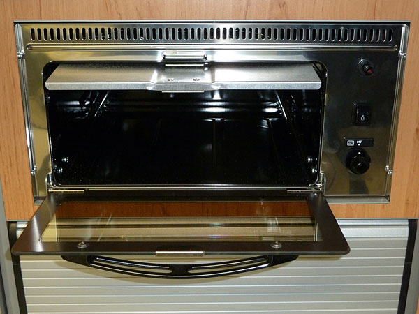Microwave oven for VW Campervan