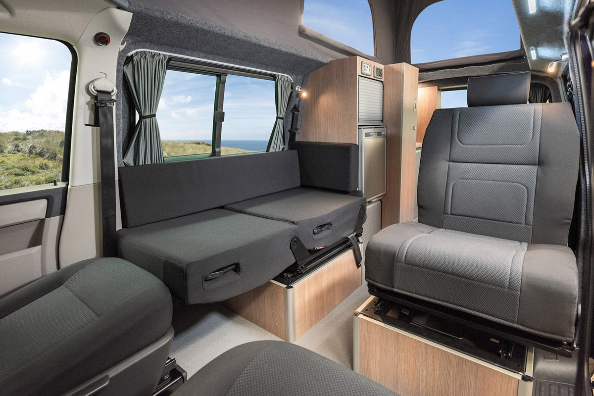 Seating arrangement transtourer VW Camper Conversion